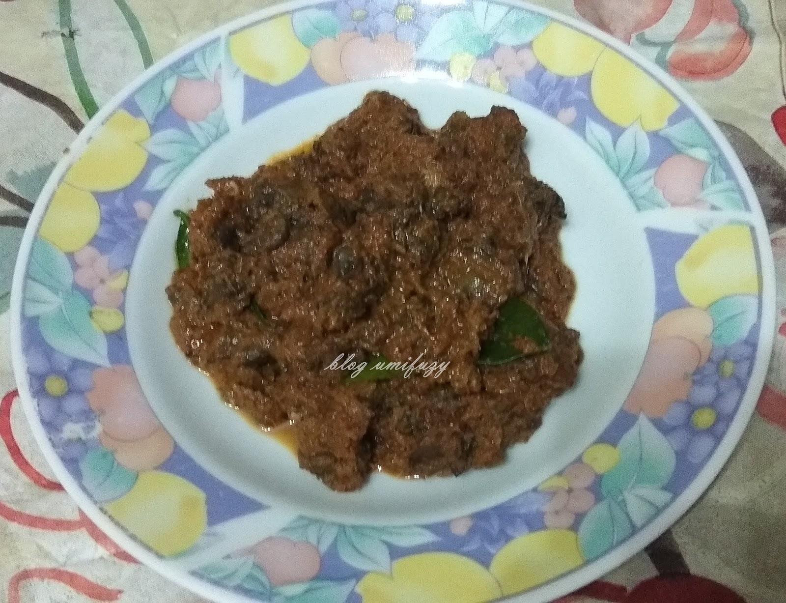 Resepi | Rendang Kerang Sabak Bernam