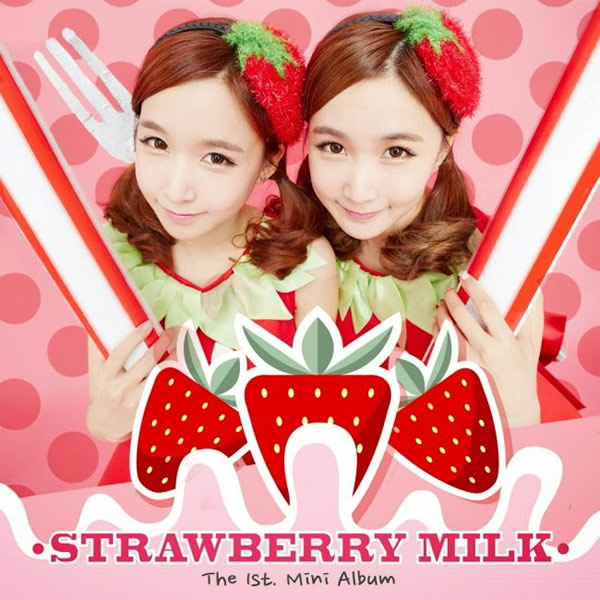 OK el debut de las adorables Strawberry Milk