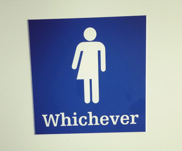 20+ Of The Most Creative Bathroom Signs Ever - Couldn't Care Less