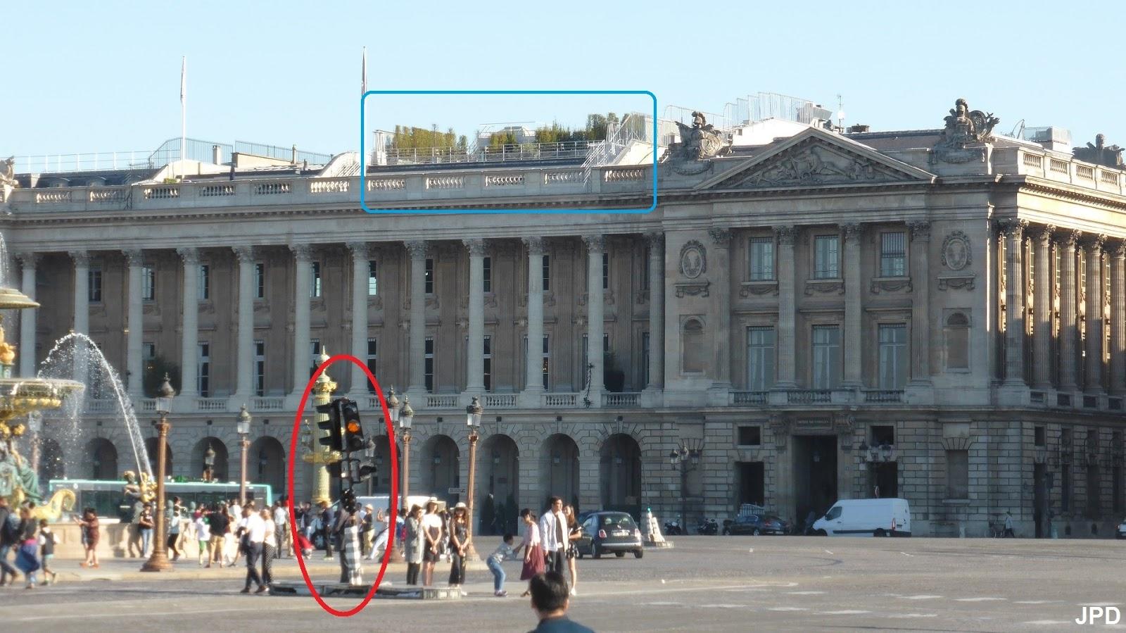 Paris Bise Art Un Matin A La Concorde