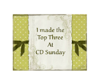 I made top 3 at CD Sundays