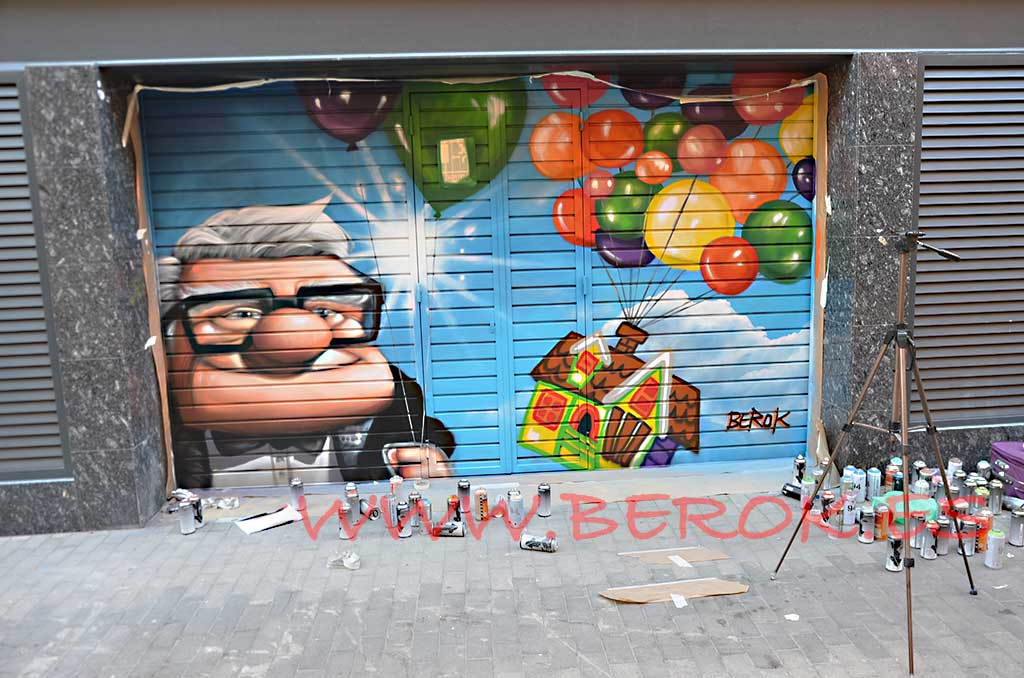 graffiti residencia