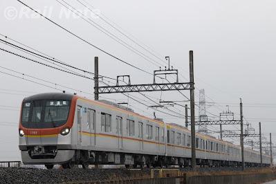 東京メトロ17000系の東上線乗務員訓練初日