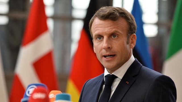 """Macron: El fracaso de la reunión del Consejo Europeo crea """"una imagen muy mala"""" de la UE"""