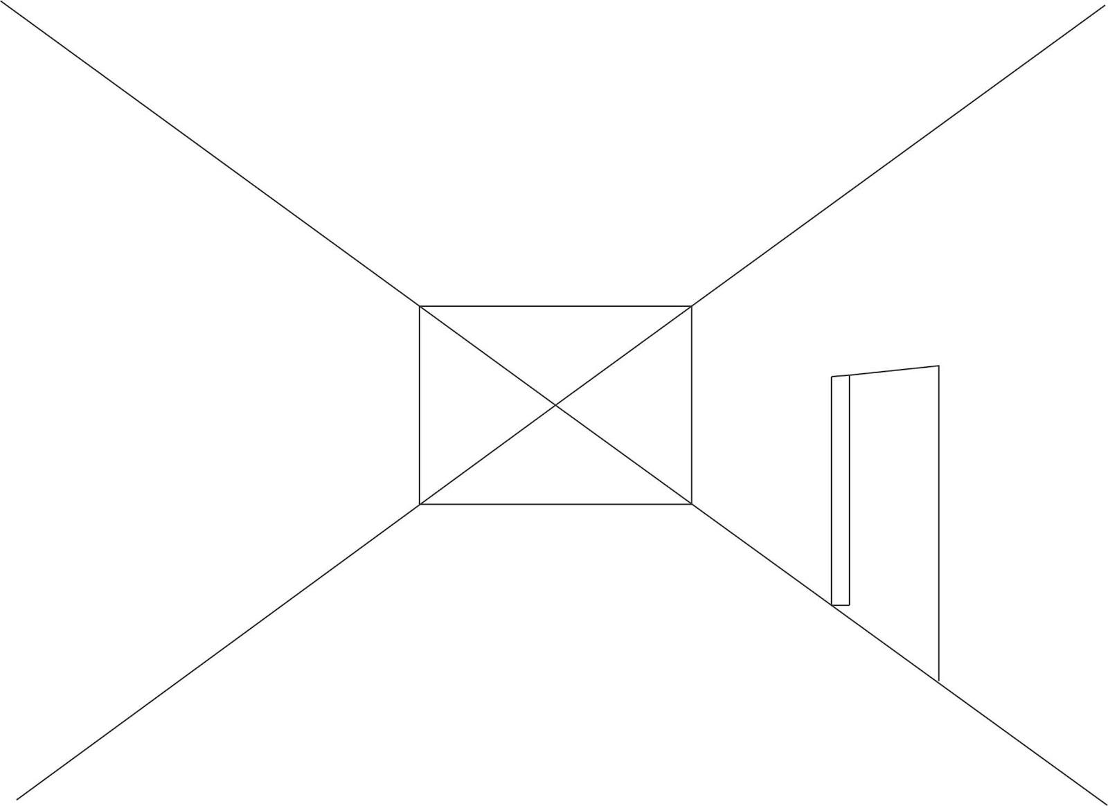 Cara Membuat Perspektif Sederhana 1 Titik Ruangan Dengan Coreldraw Tutoriduan Com