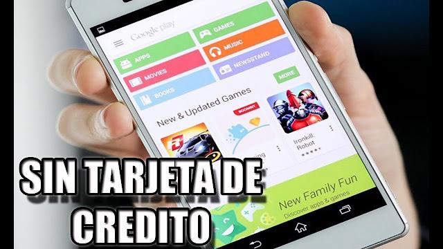 Comprar Aplicaciones o Juegos en Google Play Store Sin tarjeta de Crédito en Colombia