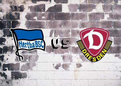Hertha BSC vs Dynamo Dresden  Resumen