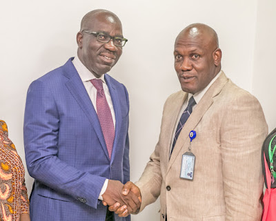 Obaseki reaffirms commitment to improved health care delivery