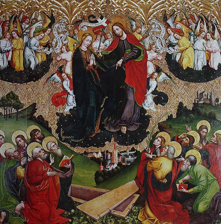 Assunção de Nossa Senhora, Johannes, Wielki, Master of the Olkusz Poliptych, 1466-1497