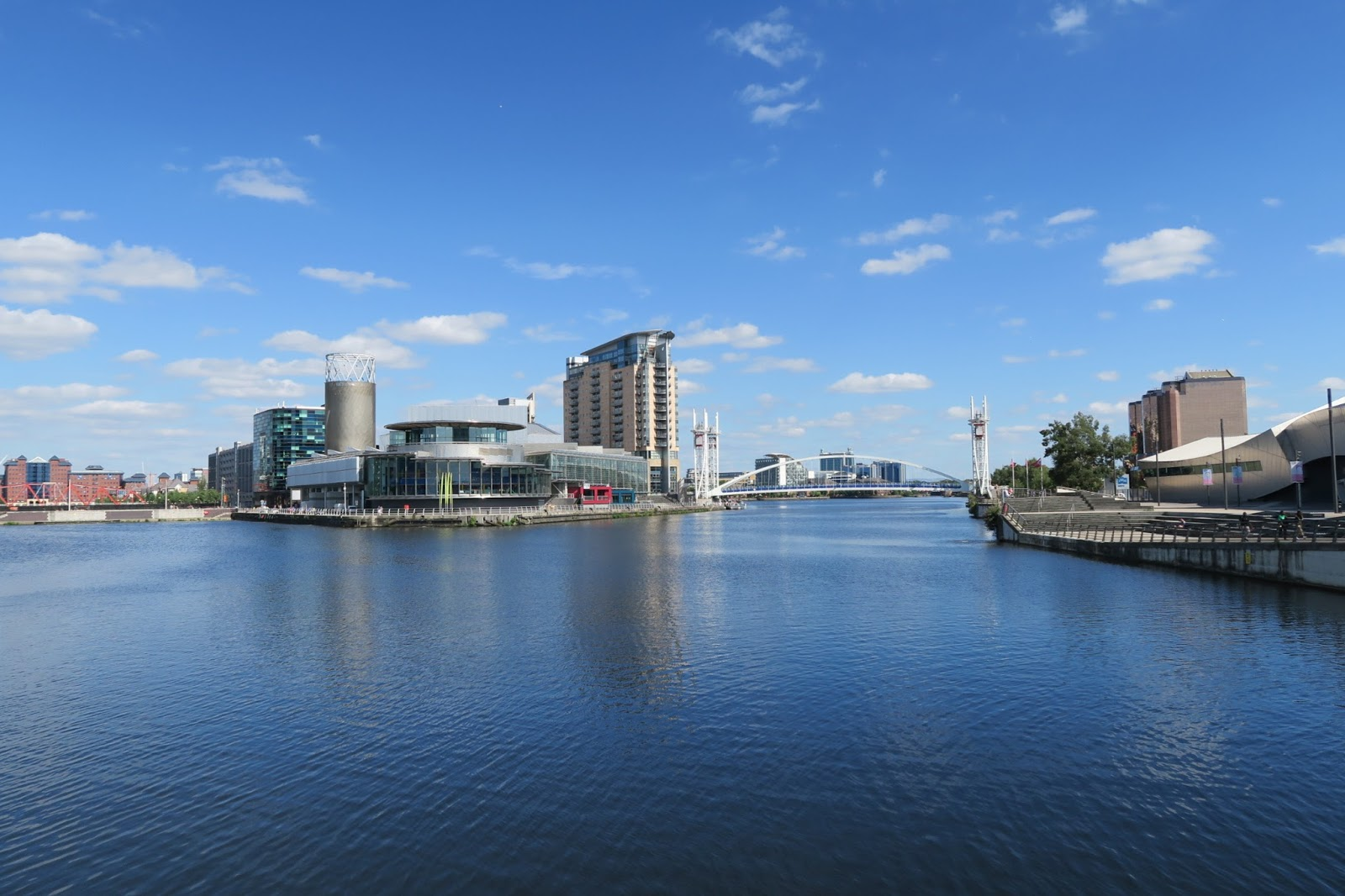 Salford Quays, Coronation Street, Manchester Shipping Canal, MediaCityUK,