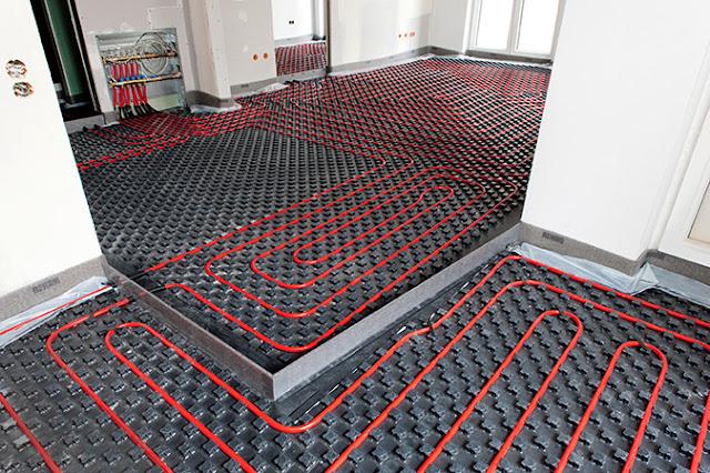 Venta e instalación de suelo radiante en Aragón, Málaga, Asturias. Ventajas, comodidad, limpieza, estética y eficiencia