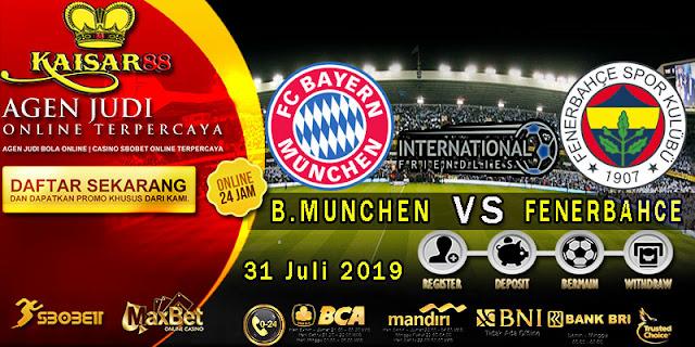 Prediksi Bola Terpercaya Liga riendlies Bayern Munchen vs Fenerbahce 31 Juli 2019