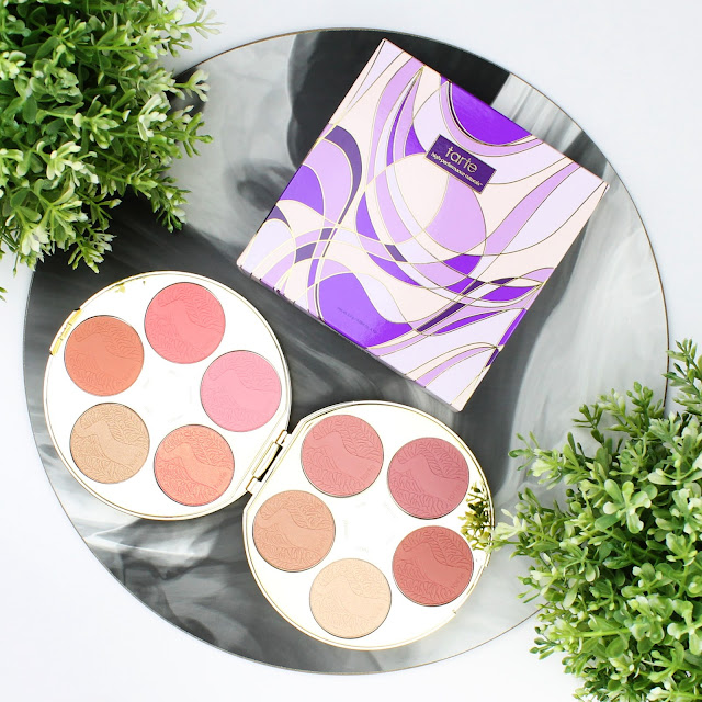 Tarte Color Wheel Amazonian 24 hour clay blush blushes palette review swatches