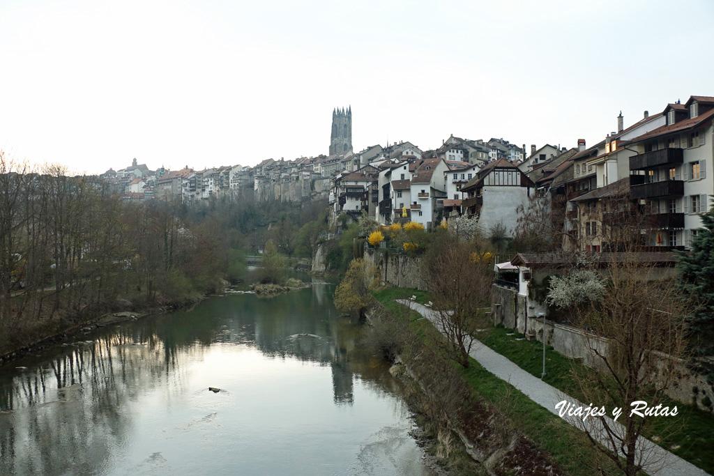 Puente de Milieu, Friburgo