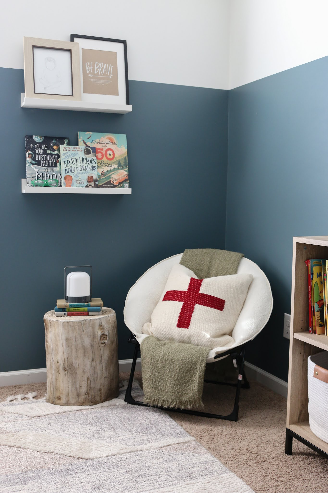 A Classic Modern Room for Dax + Advice on Designing A Kid's Room that You'll Both Love!