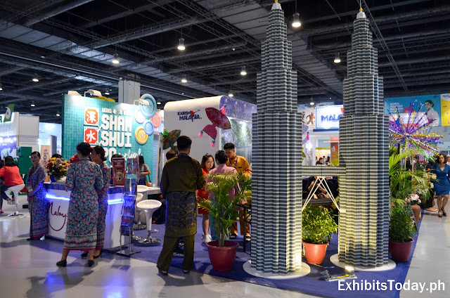 Malaysia tourism trade show display