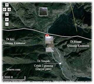 Antara Dua Gunung,Dikatakan Terdapat Tembok Seakan Membayangkan Tembok Pemisah Yakjuj dan Makjuj