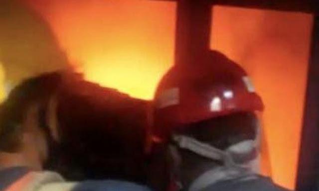 Giliran Gedung DPR Kebakaran, Sumber Api dari Lift Nusantara I
