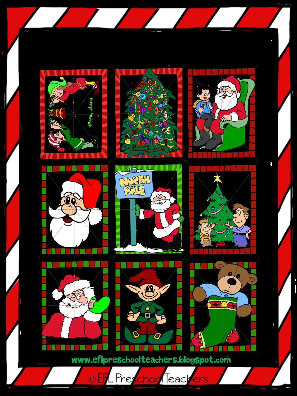 ESL/EFL Preschool Teachers: Christmas Activities for Preschool ELL