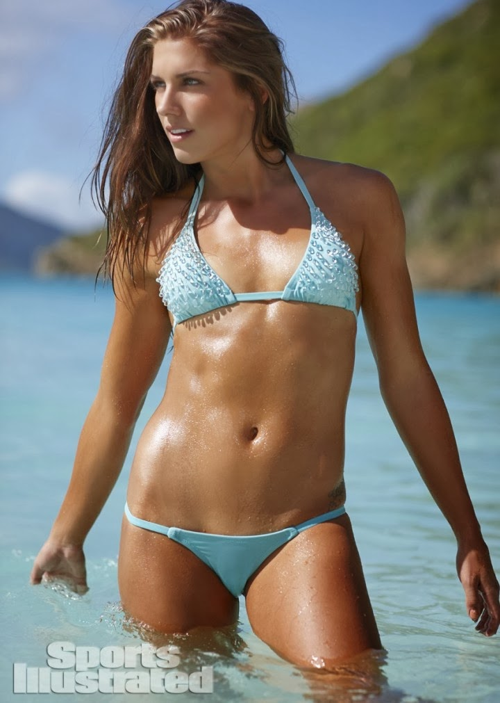Us Soccer Player Alex Morgan Shows Off Bikini Looks For