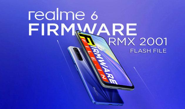 Realme 6 Firmware RMX 2001