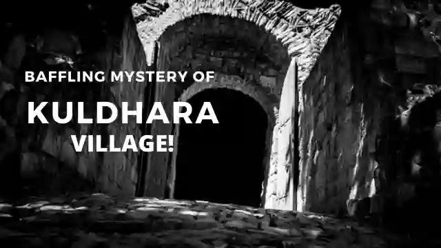 Kuldhara,Ruins of Kuldhara