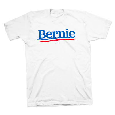 """Bernie"" shirt for sale at the Bernie Campaign Store"