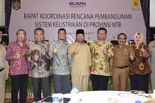 Pemprov NTB Dorong Pembangunan PLTU di Lombok dan Sumbawa