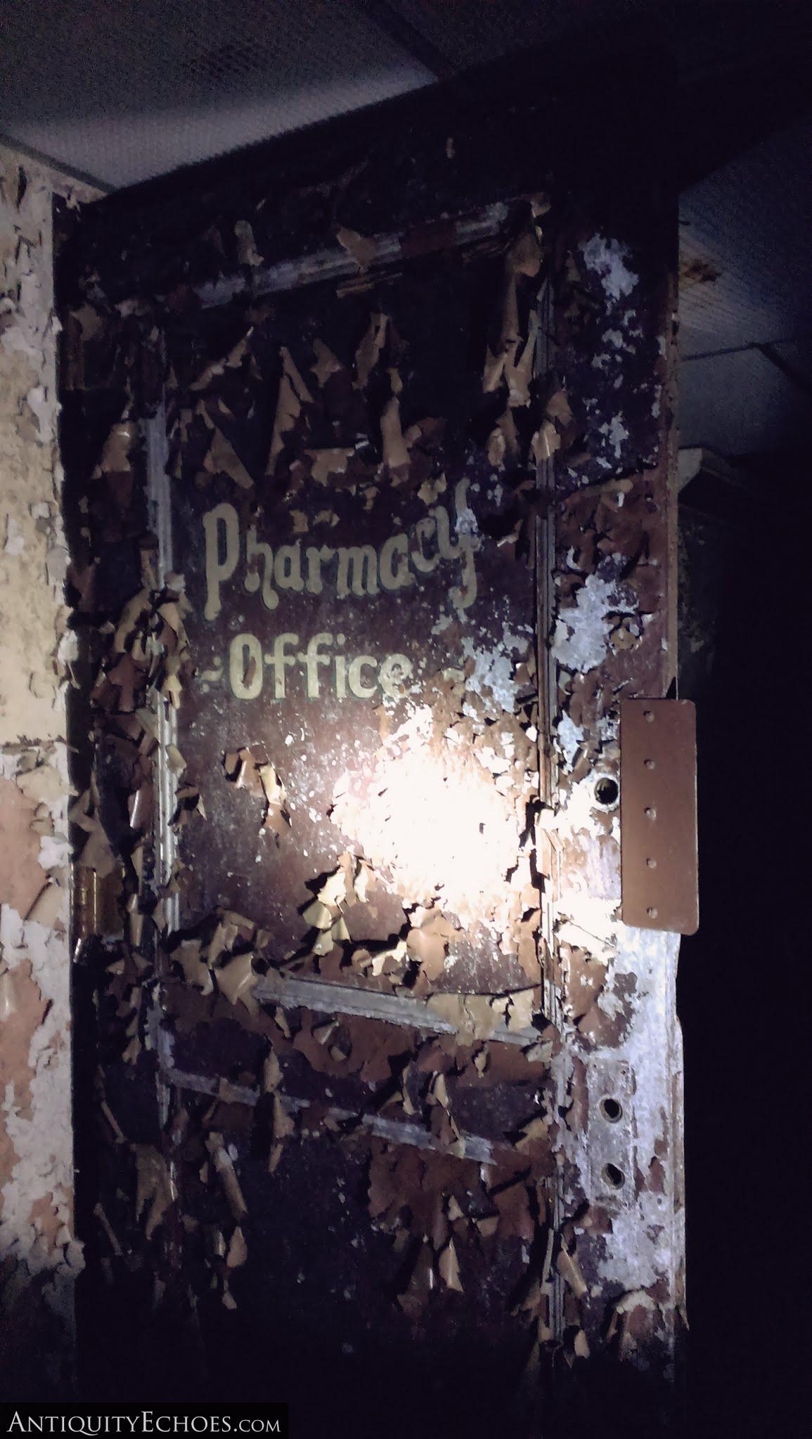 Overbrook Asylum - Basement Pharmacy Office