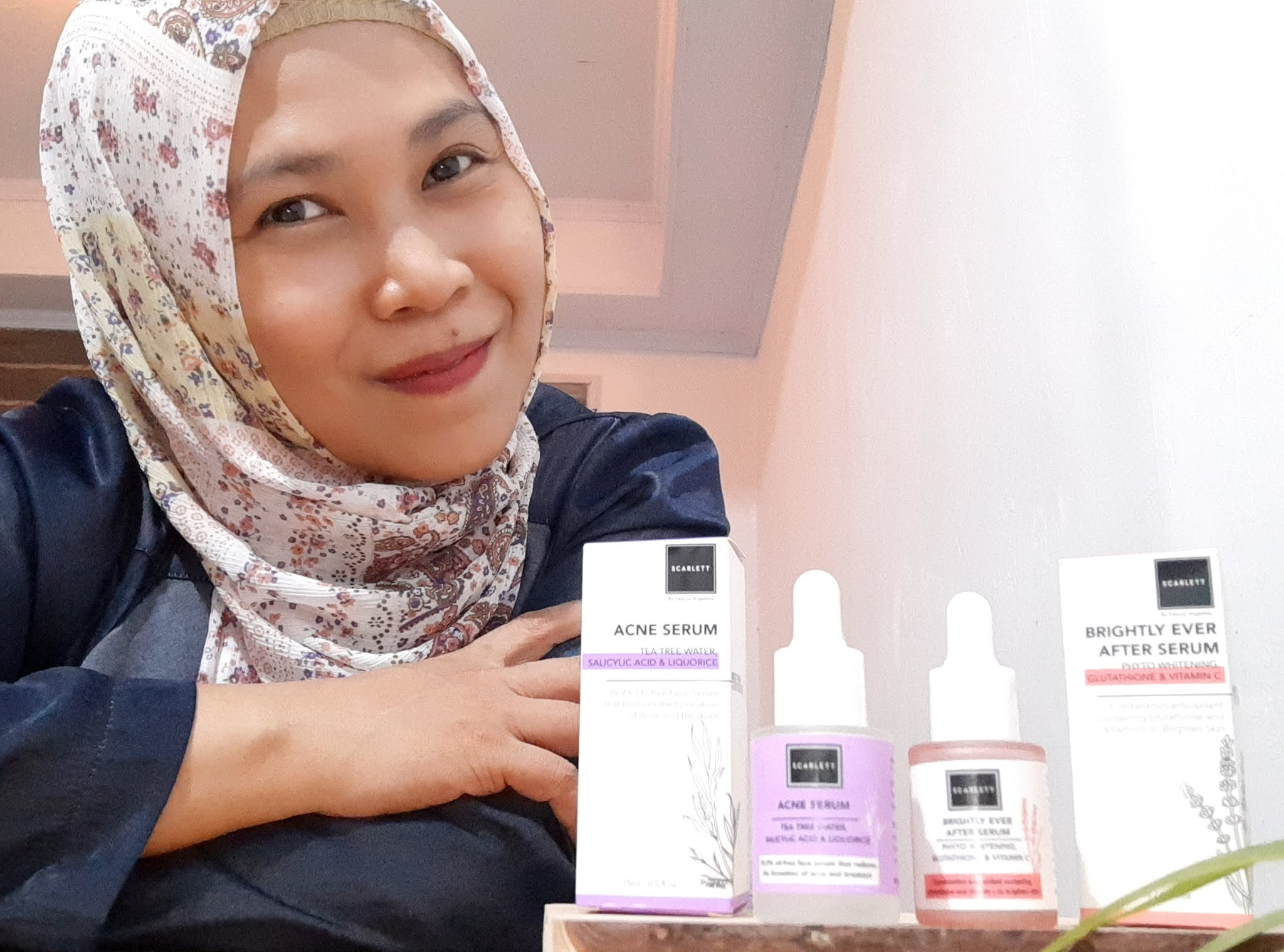 Review Scarlett Whitening Serum