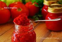 Φτιάχνω σπιτικό πελτέ ντομάτας - by https://syntages-faghtwn.blogspot.gr