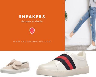 sneakers en otoño