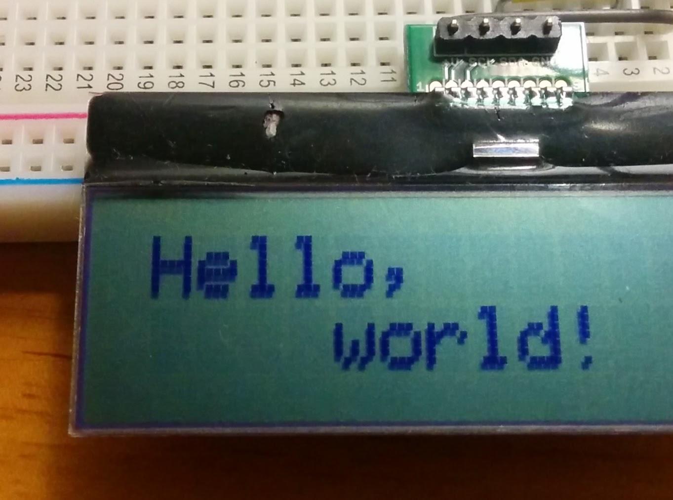 Raspberry Pilcdaqm1602ip Wiringpi I2c Lcd Oledarduino