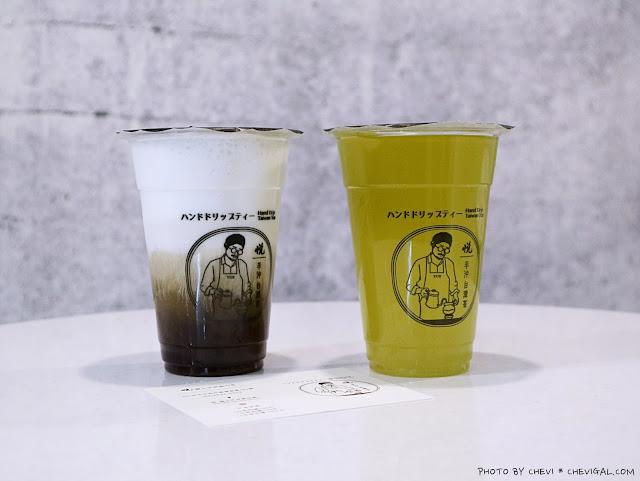 IMG 0840 - 逢甲商圈│悅。職人手沖高山茶,歡迎找茶!以手沖咖啡方式調製特色飲茶,春節前還會推出與神同行紀念瓶唷!