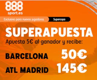 Superapuesta 888sport: Barcelona v Atletico 9-1-2020