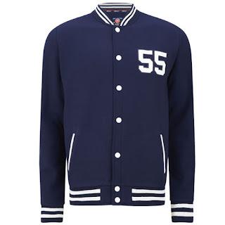 Chaqueta de Baseball 55 Soul Manning para Hombre - Marino - 12,15€ - También disponible en Negro