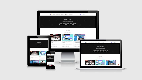Course Editing Responsive Blogger Template