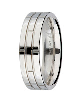 Men's Wedding Rings, Mappin & Webb