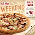 Papa Johns Weekend Deals