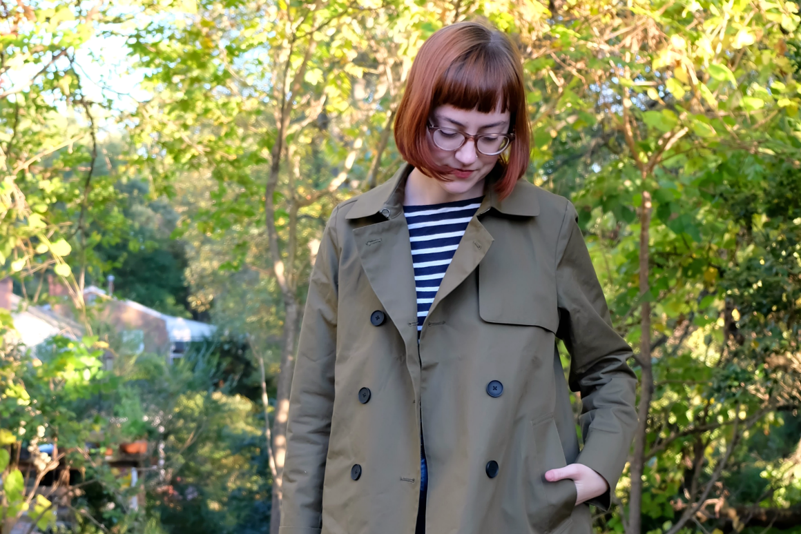 Everlane Swing Trench review