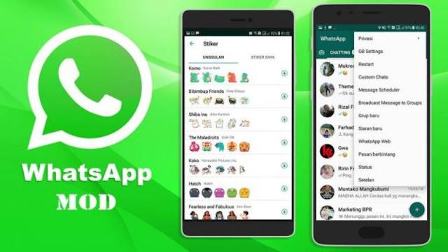 cara download whatsapp mod terbaru