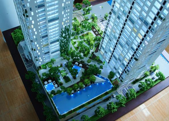 Mô hình dự án Thảo Điền Pearl