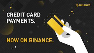 شراء عملة البيتكوين باستخدام بطاقة الائتمان على منصة Binance