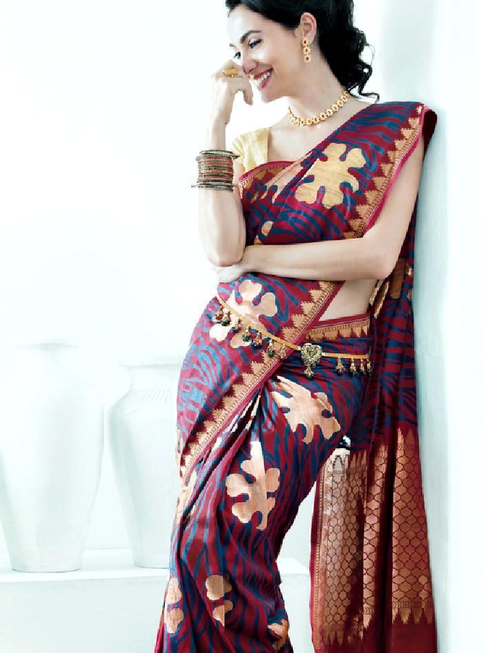 Saree World: Deepam Bridal Saree Collection 2013-2014
