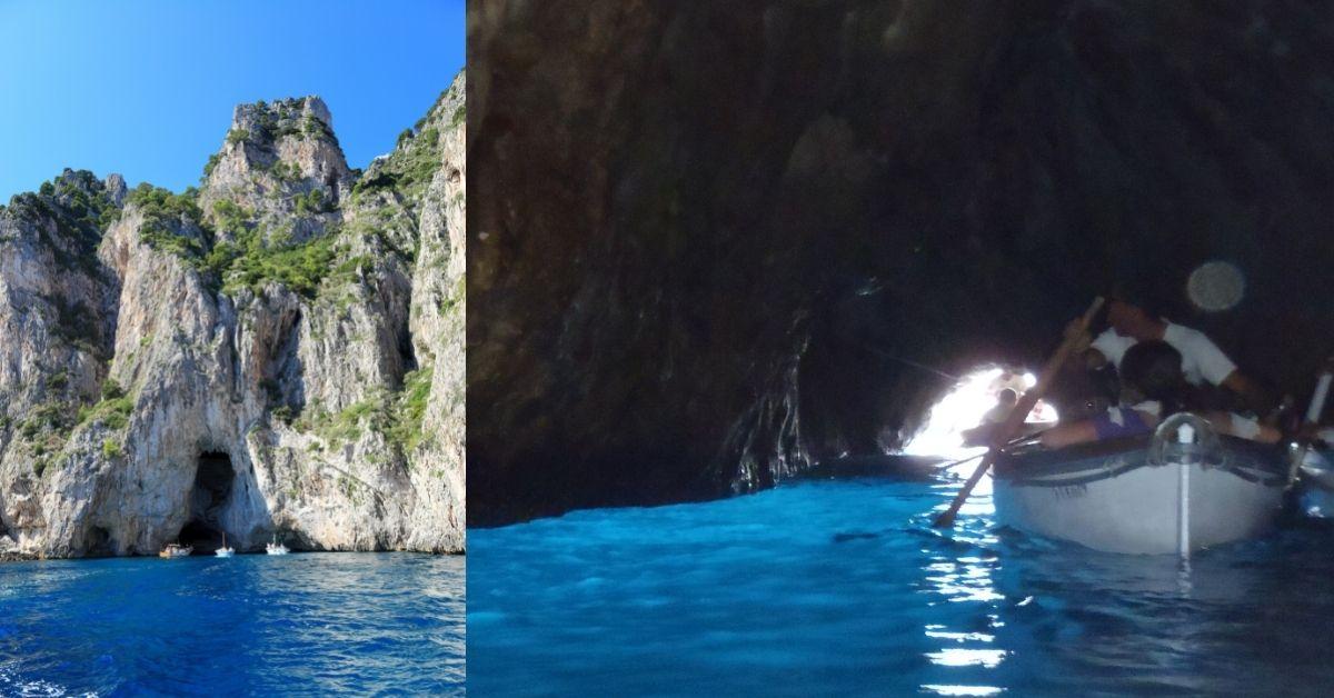 Capri Island - Turquoise Beaches And Celebrity Destination - The Blue Grotto Capri - Moniedism