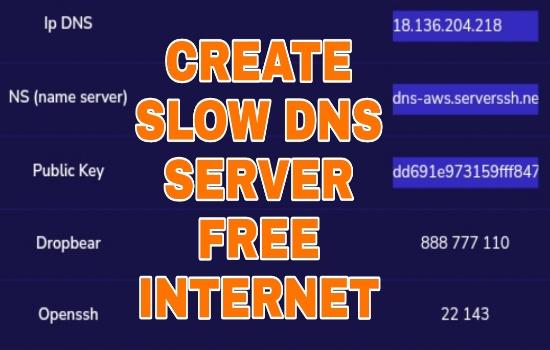 Create Akun SSH Slow DNS
