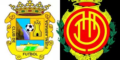 escudos de Fuenlabrada y Mallorca
