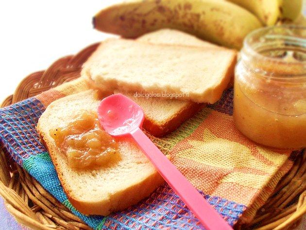 Dolci golosità: Marmellata di banane