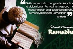 Ibadah yang dianjurkan dibulan ramadhan