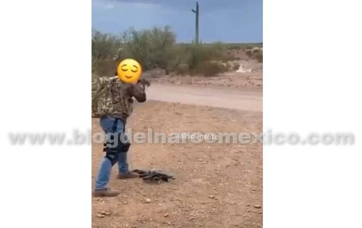 Video: Este es otro de los super entrenamientos a Sicarios en el desierto de Sonora, mejor que el de los GAFES!